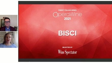 BISCI selected by Wine Spectator for OperaWine 2021